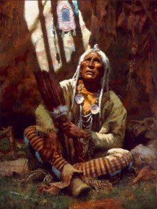 Howard-Terpning-Holy-Man-Of-The-Blackfoot